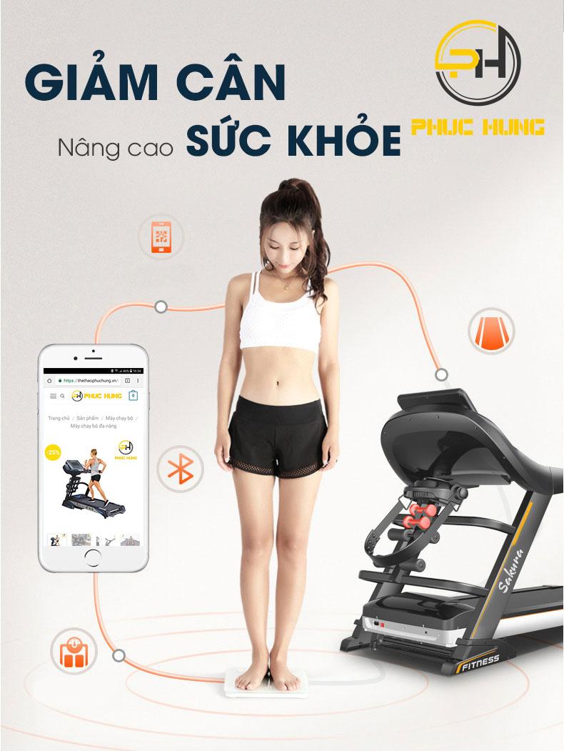 Lợi ích giảm cân khi chạy bộ.