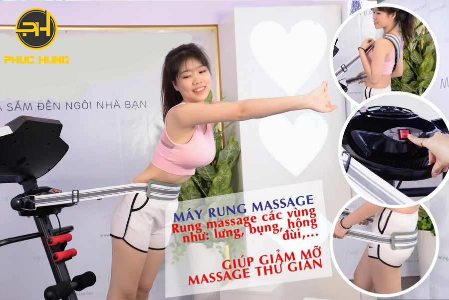 máy đánh bụng massage toàn thân